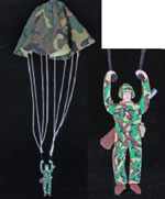 The Paratrooper Woodworking Plan - part of a 17 pattern package