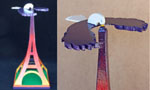 fee plans woodworking resource from WoodworkersWorkshop® Online Store - balance,eagle,Eiffel Tower,balancing,scrollsaw toys,full sized patterns,childrens,childs,kids,balance,balancing,woodworking plans,woodworkers projects,blueprints,drawings,blueprints,how-to-build