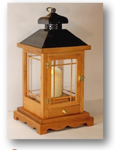 Wooden Lantern Woodworking Plan