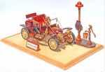 Stanley Steamer Antique Automobile Woodworking Plan. - Paper plan