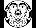 West Coast Native Indian Art Scroll Saw Pattern
