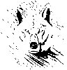 Wolf from the Mist (PDF) Scroll Saw Pattern, Woodworking,plans,projects,patterns,Scrollsawing,scrollsawn,patternmaking,scrollsawyer,scrolling,silhouettes,artistic,wolves,wolfs,coyotes,animals,wildlife,western,predators,smart