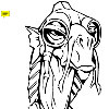 Star Wars - Sebulba the Dug Scroll Saw Pattern