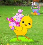 Spring Chick Woodworking Pattern