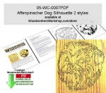 Affenpinscher Dog Scrollsaw Woodworking Pattern Downloadable PDF woodworking plan