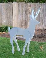 3D Reindeer Yard Art Woodworking Pattern