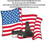 05-WC-0012 - Fallen Soldier Boots on the Ground Yard Art Woodworking Plan.