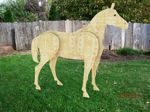 05-WC-0014 - 3-D LIFE SIZE 7ft tall Horse Woodworking Plan.
