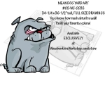 Mean Dog Yard Art Woodworking Pattern