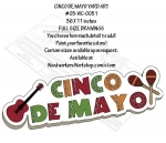 Cinco De Mayo Yard Art Woodworking Pattern