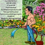 05-WC-0058 - Gardener Adam Yard Art Woodworking Pattern