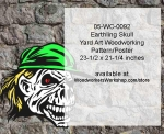 fee plans woodworking resource from WoodworkersWorkshop® Online Store - human skulls,baseball cap,Halloween,yard art,painting wood crafts,scrollsawing patterns,drawings,plywood,plywoodworking plans,woodworkers projects,workshop blueprints