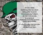 fee plans woodworking resource from WoodworkersWorkshop� Online Store - human skulls,Halloween,German war helmet,Nazi,yard art,painting wood crafts,scrollsawing patterns,drawings,plywood,plywoodworking plans,woodworkers projects,workshop blueprints