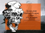 Earthling Skull Halloween Pattern