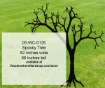 05-WC-0126 - Spooky Tree Yard Art Woodworking Pattern