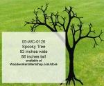 Spooky Tree Yard Art Woodworking Pattern