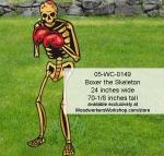 Boxer the Skeleton Yard Art Halloween Woodworking Pattern