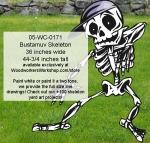Bustamuv Skeleton Yard Art Woodworking Pattern