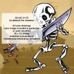 05-WC-0175 - Scuttlebutt the Skeleton Yard Art Woodworking Pattern