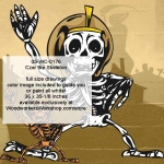 05-WC-0176 - Czar the Skeleton Yard Art Woodworking Pattern
