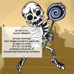 05-WC-0191 - Sucker Skeleton Halloween Woodworking Pattern