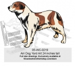 Airi Dog Yard Art Woodworking Pattern