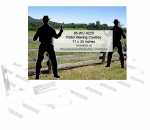 Pistol Waving Cowboy Yard Art Woodworking Pattern