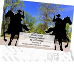 Cowboy Holdup! Yard Art Woodworking Pattern