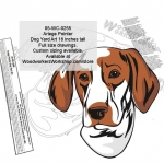 05-WC-0255 - Ariege Pointer Dog Yard Art Woodworking Pattern