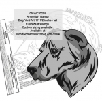 Armenian Gampr Dog Yard Art Woodworking Pattern