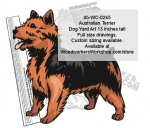 Australian Terrier Dog Yard Art Woodworking Pattern