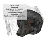 05-WC-0269 - Bakharwal Dog Yard Art Woodworking Pattern