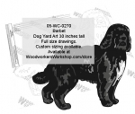 Barbet Dog Yard Art Woodworking Pattern woodworking plan