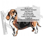 Basset Artesien Normand Dog Yard Art Woodworking Pattern woodworking plan