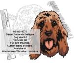 Basset Fauve de Bretagne Dog Yard Art Woodworking Pattern woodworking plan