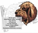 Grand Basset Griffon Vendeen Dog Yard Art Woodworking Pattern
