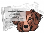 Dachshund Mix Dog Yard Art Woodworking Pattern