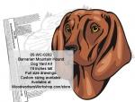 Barvarian Mountain Hound Dog Yard Art Woodworking Pattern woodworking plan