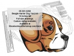 Beagle-Harrier Dog Yard Art Woodworking Pattern