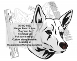 fee plans woodworking resource from WoodworkersWorkshop� Online Store - Berger Blanc Suisse,Dogs,breeds,yard art,painting wood crafts,jigsawing patterns,drawings,plywood,plywoodworking plans,woodworkers projects,workshop blueprints