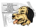 Bosnian Coarse-haired Hound Dog Yard Art Woodworking Pattern
