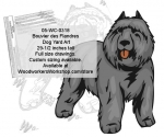 fee plans woodworking resource from WoodworkersWorkshop� Online Store - Bouvier des Flandres,dogs,pets,animals,yard art,painting wood crafts,scrollsawing patterns,drawings,plywood,plywoodworking plans,woodworkers projects,workshop blueprints