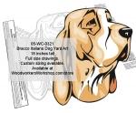 Bracco Italiano Dog Yard Art Woodworking Pattern