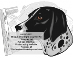 fee plans woodworking resource from WoodworkersWorkshop� Online Store - Braque d�Auvergne,dogs,pets,animals,yard art,painting wood crafts,scrollsawing patterns,drawings,plywood,plywoodworking plans,woodworkers projects,workshop blueprints
