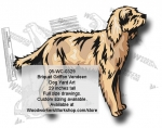 Briquet Griffon Vendeen Dog Yard Art Woodworking Pattern woodworking plan