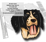 Brittany Dog Yard Art Woodworking Pattern woodworking plan