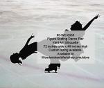 Figure Skating Dance Pair Silhouette Yard Art Woodworking Pattern, figure skating,pairs,dance,ice skating,figure skaters,yard art,painting wood crafts,scrollsawing patterns,drawings,plywood,plywoodworking plans,woodworkers projects,workshop blueprints