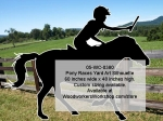 05-WC-0380 - Horse and Rider Silhouette Yard Art Woodworking Pattern