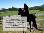 05-WC-0387 - Equestrian Silhouette Yard Art Full Size Woodworking Pattern