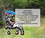 05-WC-0390 - Moose Haida Art Pattern